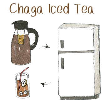 Chaga Iced Tea Recipe