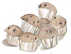 Chaga Muffins recipe