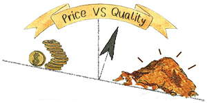 Chaga price vs quality